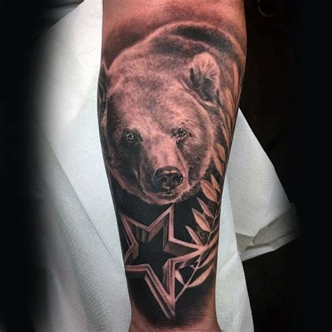 bear sleeve tattoo designs 80 california designs for grizzly ink ideas