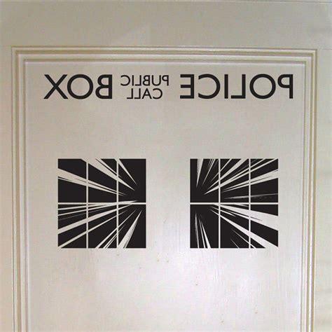 Closet Door Decals Doctor Who Box Interior Door Decal