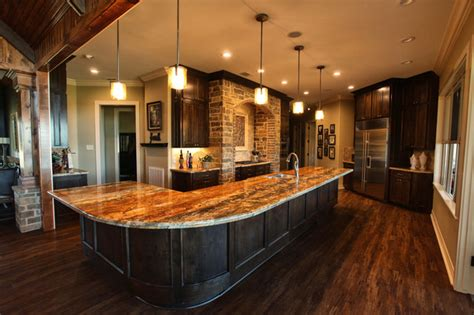 ranch style home interior texas ranch traditional kitchen houston by ambiance