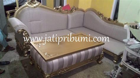 Sofa Sudut Di sofa tamu sudut ukir jepara terbaru jati pribumi
