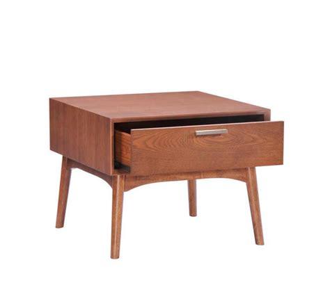 modern walnut coffee table z091 contemporary