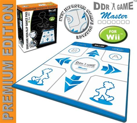 Wii Mat List by Wii Ddr Non Slip Pad 0852165001596 Buy New And