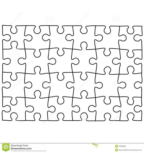11 Best Jigsaw Patterns Images On Pinterest Puzzle Jigsaw Puzzle Template Free