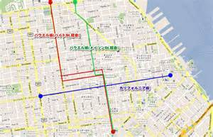 Trolley Map San Francisco by Sf Cable Car Route Map Bing Images