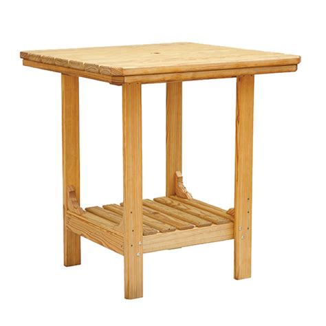 square patio tables square patio table cooper s collection outdoor wood