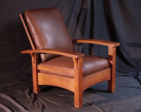 Morris Chair by Voorhees Craftsman Mission Oak Furniture Gustav Stickley