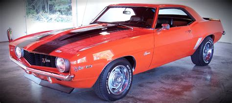 Orange For Sale by Car Maximum 187 Archive 1969 Hugger Orange Camaro For Sale Car Maximum