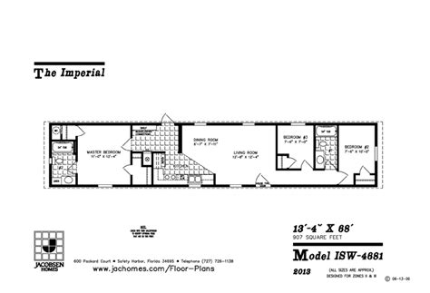 jacobsen mobile home floor plans 800 to 999 sq ft manufactured home floor plans jacobsen