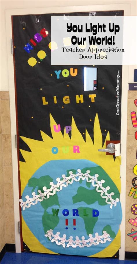 Classroom Door Themes Around The World World Wallpaper by 25 Appreciation Door Ideas Onecreativemommy