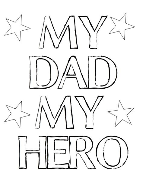 printable coloring pages for dads free coloring pages of i love you dad