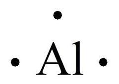 aluminum electron dot diagram lecture 5 flashcards quizlet