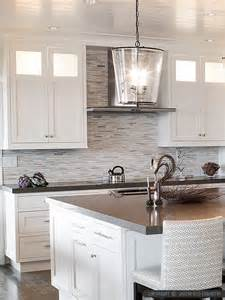 Modern Kitchen Countertops And Backsplash modern white gray marble kitchen backsplash tile from backsplash com