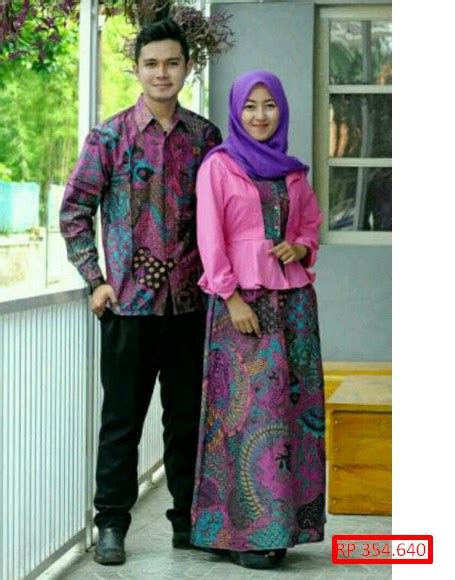 Baju Couplebatik Couplebatik Sarimbit D1858 100 gambar baju batik nikah dengan dari mulai lamaran