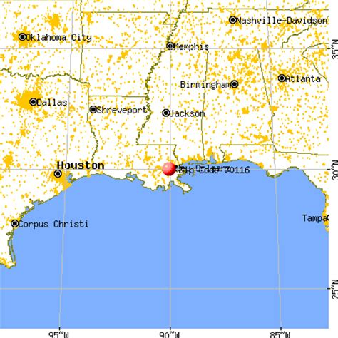 louisiana map distances 70116 zip code new orleans louisiana profile homes