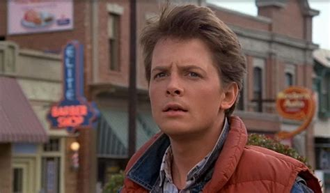 michael j fox marty mcfly back to the future michael j fox marty mcfly