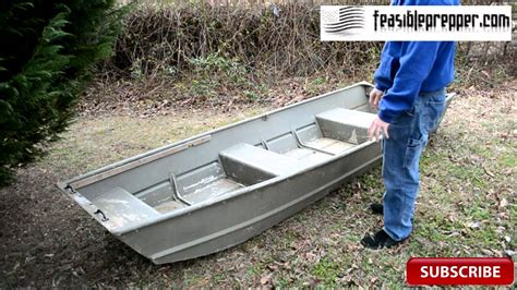 lowe jon boat l1232 lowe l1232 first video youtube