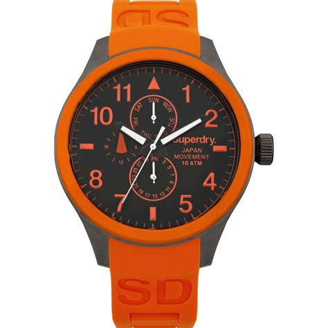 Superdry Watches superdry scuba syg110o shade station