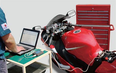 Suzuki Motorrad Diagnosestecker das suzuki diagnose system sds fi meldung