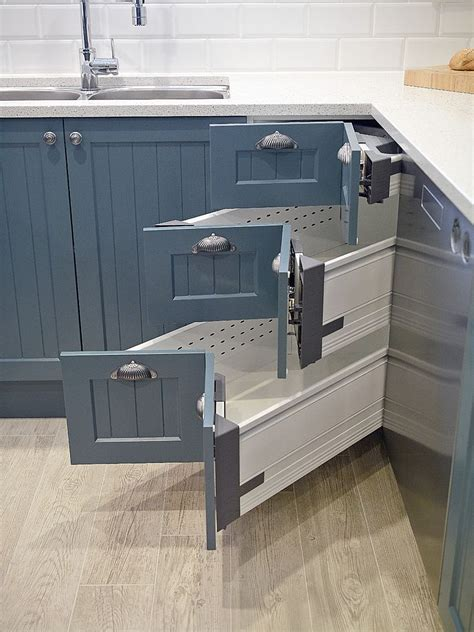 kitchen drawers design 30 corner drawers and storage solutions for the modern kitchen