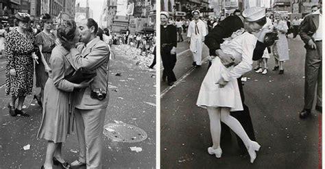 New Della 2 By Briseis i baci rubati di new york che festeggiarono la della seconda guerra mondiale vanilla magazine