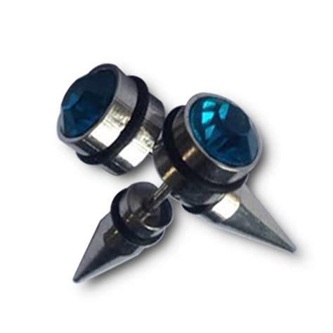 unisex titanium steel stud no piercing