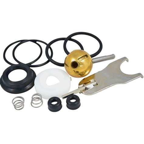 partsmasterpro repair kit   style ball  delta single handle tub  shower faucets
