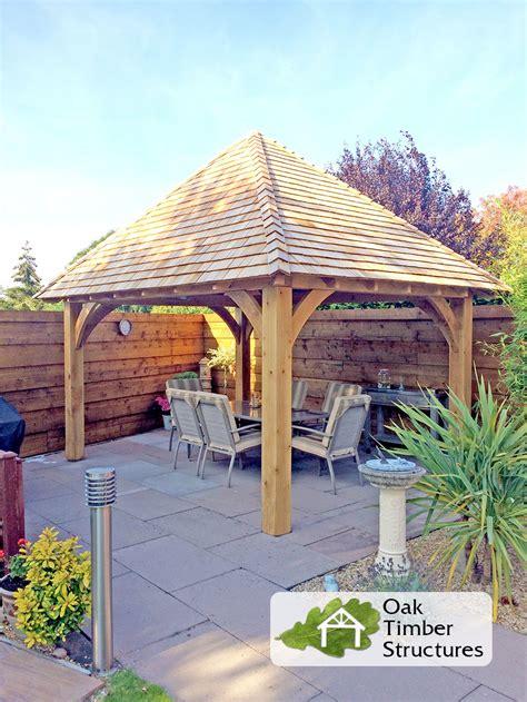 gazebo structures solid oak gazebos oak timber structures