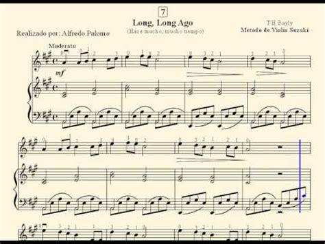 Ago Suzuki Piano Partitura Ago N 186 7 Viol 237 N Y Piano M 233 Todo Suzuki