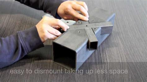 steel pipe structures  eliminating welding cmm laser