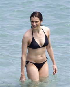 lea seydoux rachel weisz rachel weisz in black bikini 04 gotceleb