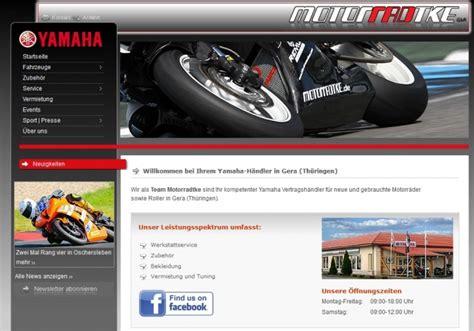 Yamaha Motorrad Gera by Motorradtke In Gera Motorradh 228 Ndler