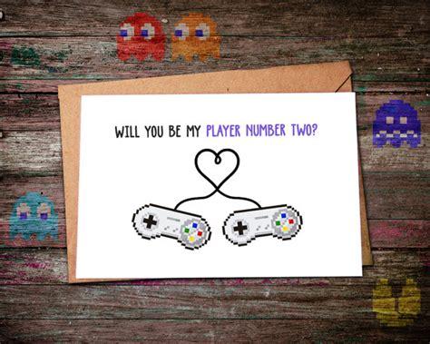 valentines gifts for geeky boyfriend geeky gift idea gamer greeting cards ausretrogamer