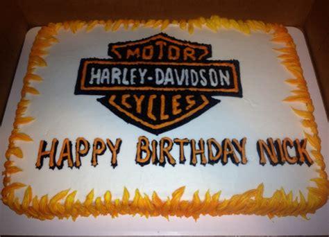 Harley Davidson Cake Decorations by Harley Davidson Cake Decorations Birthday Cakes