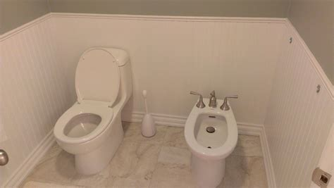 Separate Bidet Washrooms Toro Renovations Inc