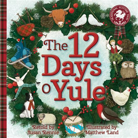 12 Days Of Decorations Uk by Susan Rennie 12 Days O Yule Floris Books
