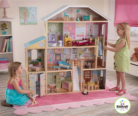 tall dolls house kidkraft majestic mansion kids doll house huge large dollhouse ebay