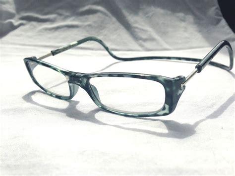 2 00 black tortoiseshell magnetic reading glasses snap