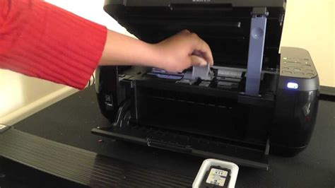 How To Get Ink by Canon Pixma Mp499 How To Replace Printer Ink Cartridges