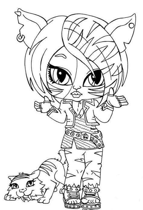 Kolorowanki Monster High Do Wydruku Strona 2 High Color Page 2