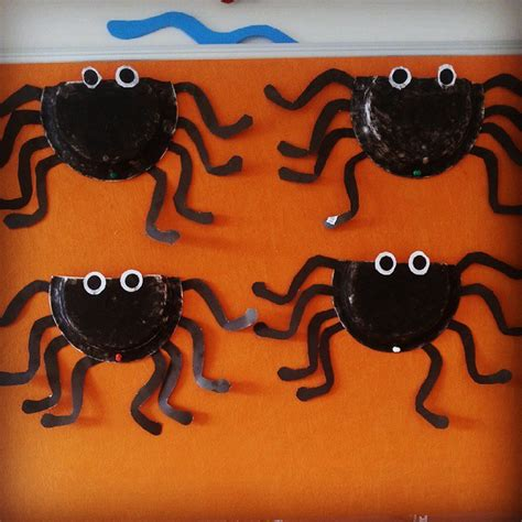 Paper Plate Spider Craft - paper plate craft idea for crafts and worksheets