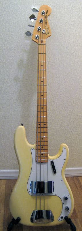 White P lemme see your vintage white p bass talkbass