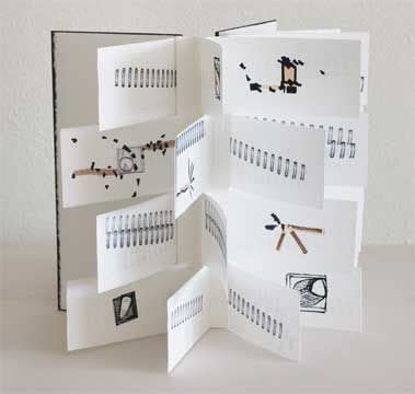 Handmade Flip Book - handmade books artists handmade book by
