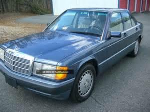1993 Mercedes 190e 2 6 1993 Mercedes 190e 2 6 Sedan 4 Door 2 6l