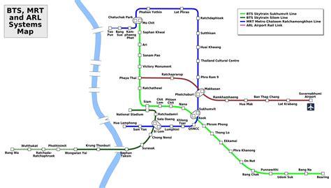 bts thailand the skytrain and metro of bangkok the bts of bangkok