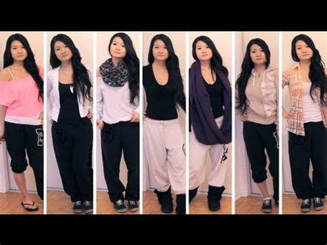 Lookbook styling outfits with sweatpants fashion eva
