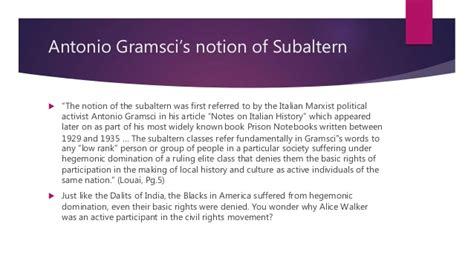 color purple novel analysis a subaltern study of the color purple
