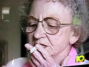Grandma Lighting Old Lady Smoking Pot Youtube