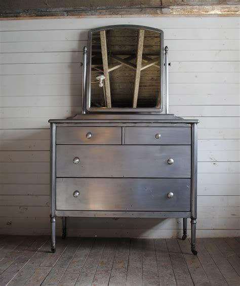 simmons steel dresser with mirror phylum furniture