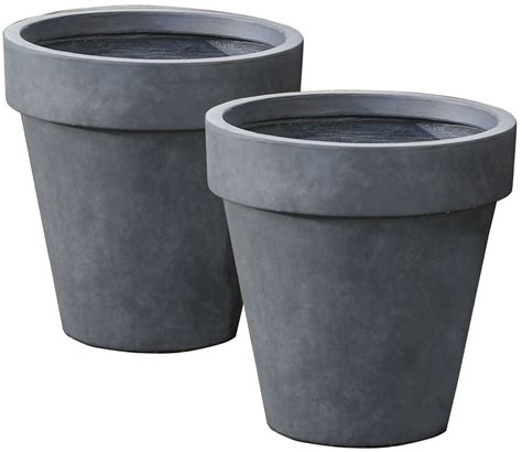 Classic Planters by Classic Outdoor Planters Set Of 2 In Outdoor Planters