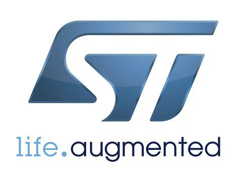 logo st design stmicroelectronics